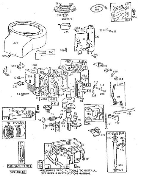 BRIGGS & STRATTON BRIGGS & STRATTON ENGINE Parts | Model