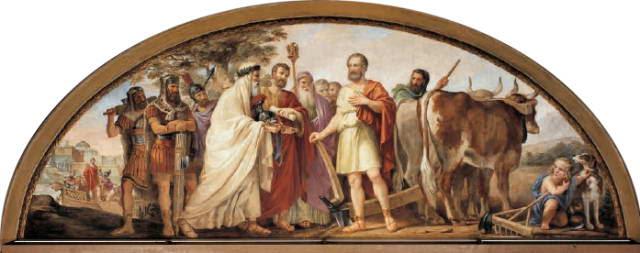 Constantino Brumidi's Lucius Quinctius Cincinnatus
