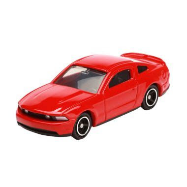 jual tomica ford mustang gt  red diecast  harga
