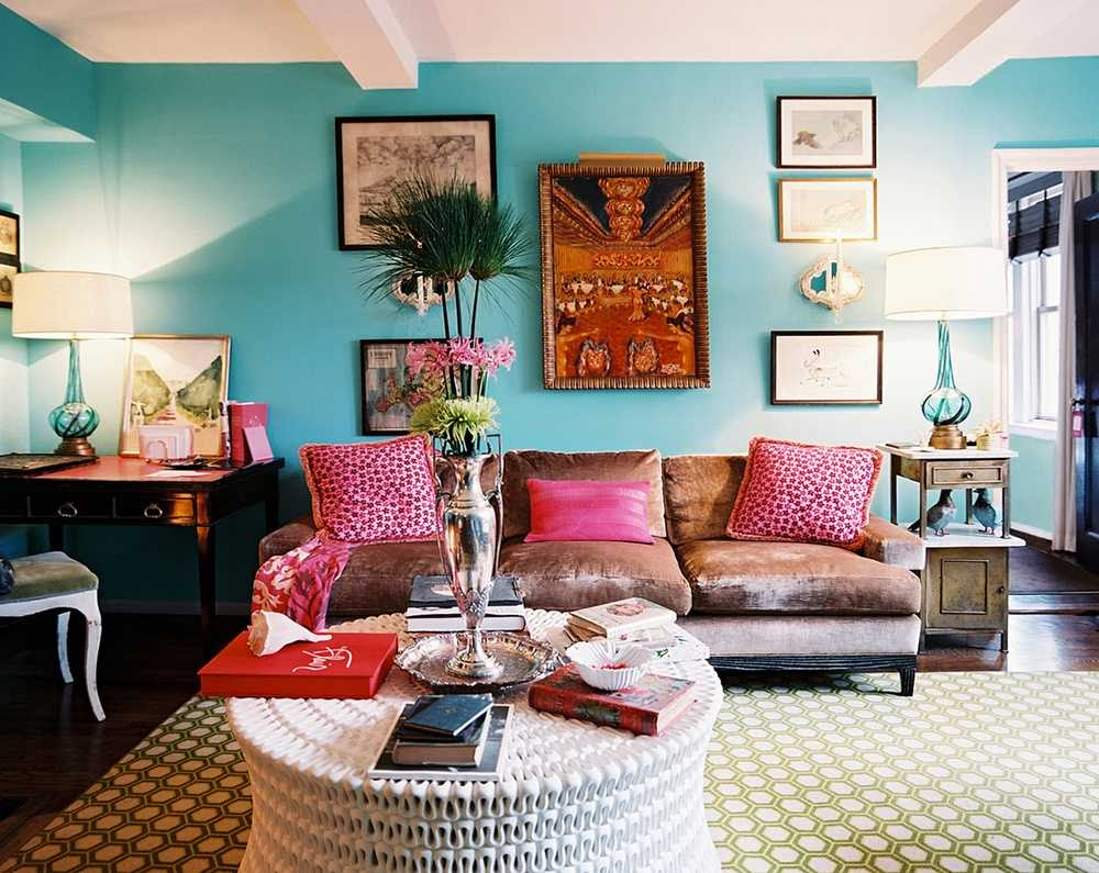 15 Playful Living Room Designs In Boho Style