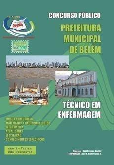 apostila Prefeitura Municipal de Belém-PA TÉCNICO EM ENFERMAGEM