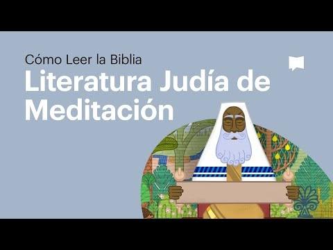 04 La Literatura Bíblica como Literatura de Meditación Judía - Cómo Leer La Biblia
