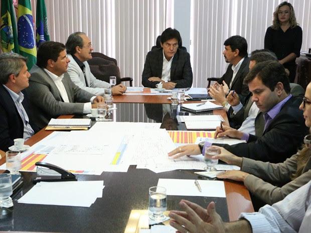 Reunião sobre a seca aconteceu nesta sexta em Natal (Foto: Divulgação/Assecom)