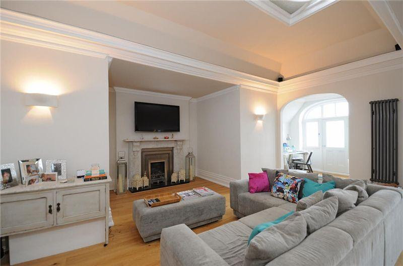Zoella's old living room