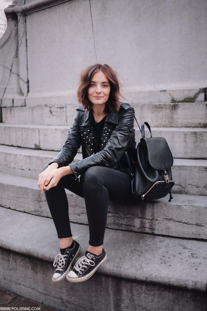 #LeatherJacket | Polienne