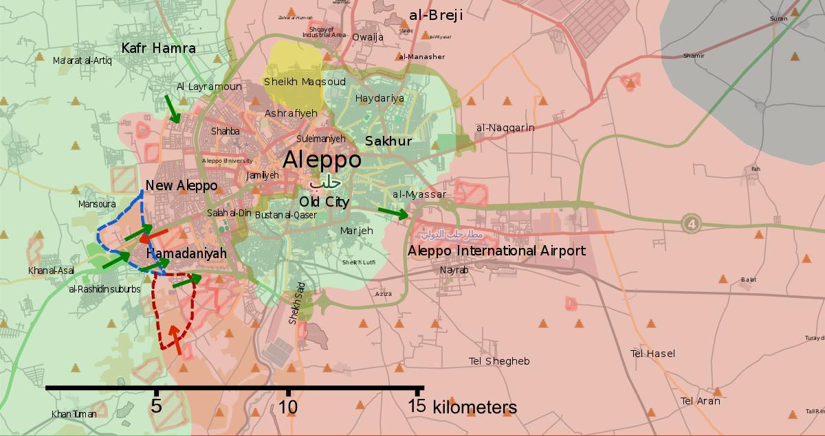 Aleppo Offensive October November 2016 Wikipedia