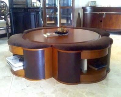 Retro To Go: Full Moon Coffee Table Set