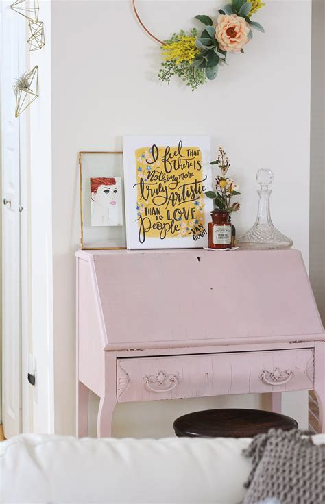 My Antique Letter Writing Desk & Tips For Setting Up Your