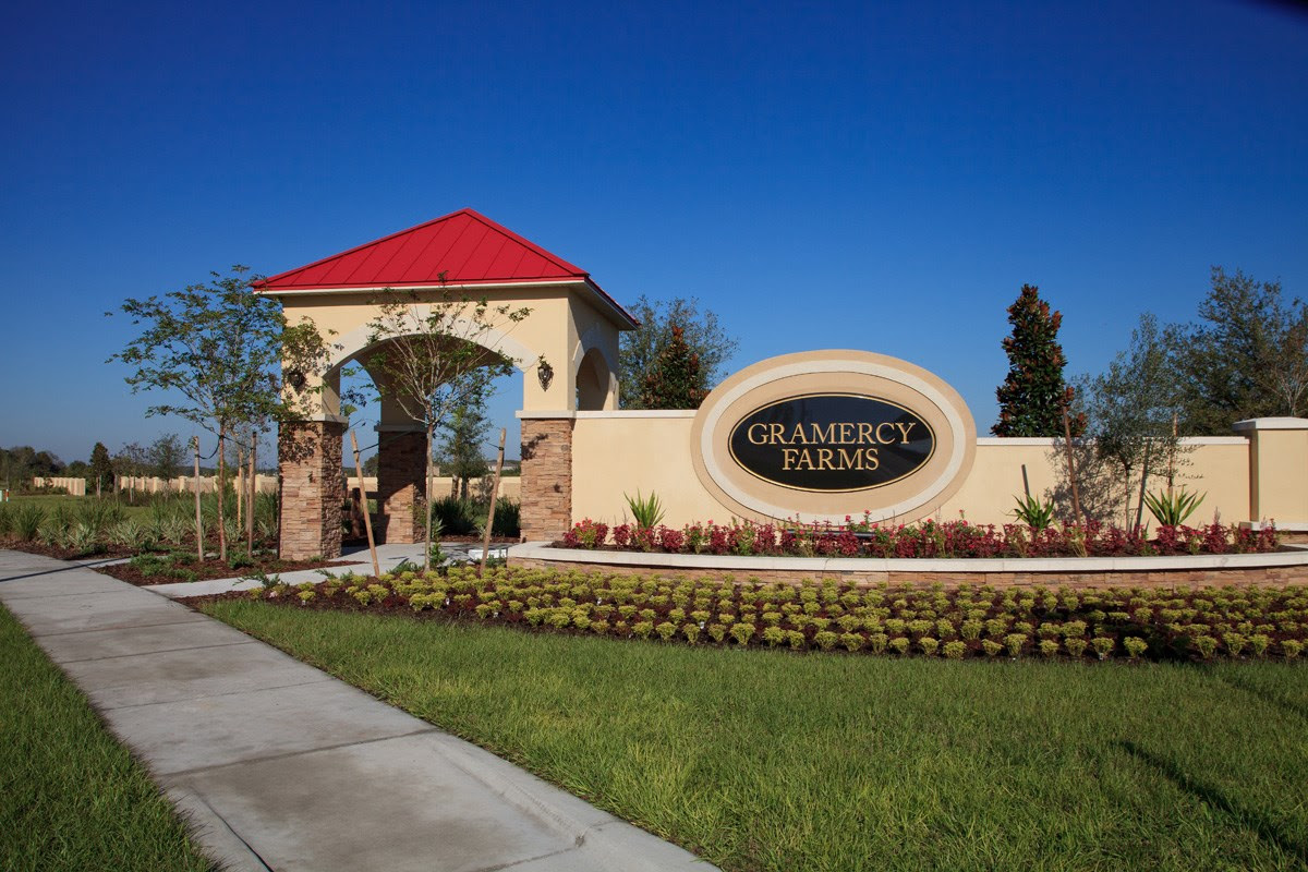 New Homes for Sale in St. Cloud, FL  Gramercy Farms Community by KB Home