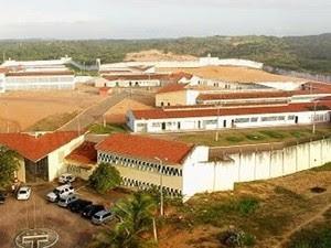Penitenciária Estadual de Alcaçuz, maior unidade prisional do Rio Grande do Norte (Foto: Ney Douglas)
