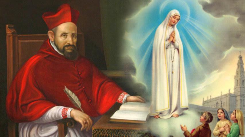 13 de Mayo: Virgen de Fátima y San Roberto Belarmino
