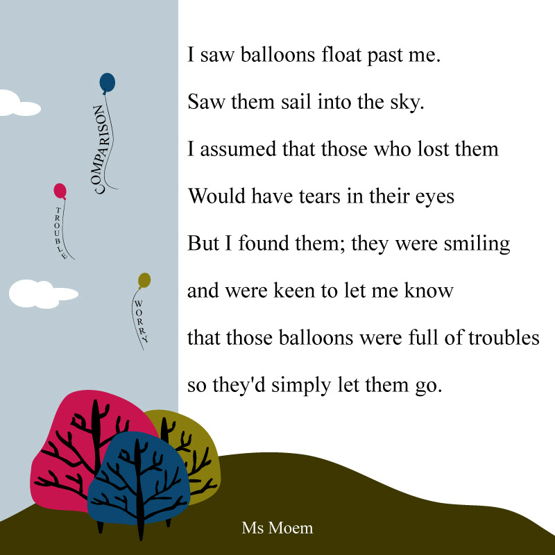 Letting Go Archives Ms Moem Poems Life Etc