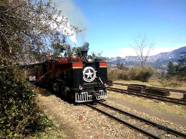 Image result for Himachal: 112-year old heritage steam engine is becoming tourists' favourite