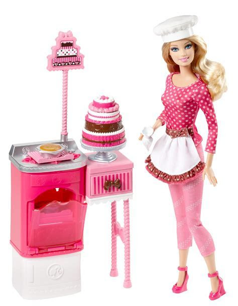 Barbie Careers Cake Decorator with Doll   Kmart