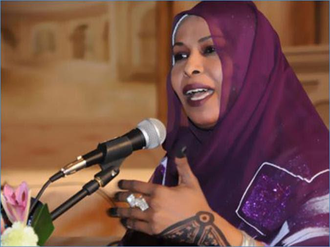 روضة الحاج: الوسام تكريم لحواء السودانية