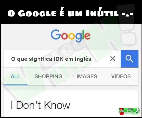 Blog Viiish - O google nem manja de tudo...