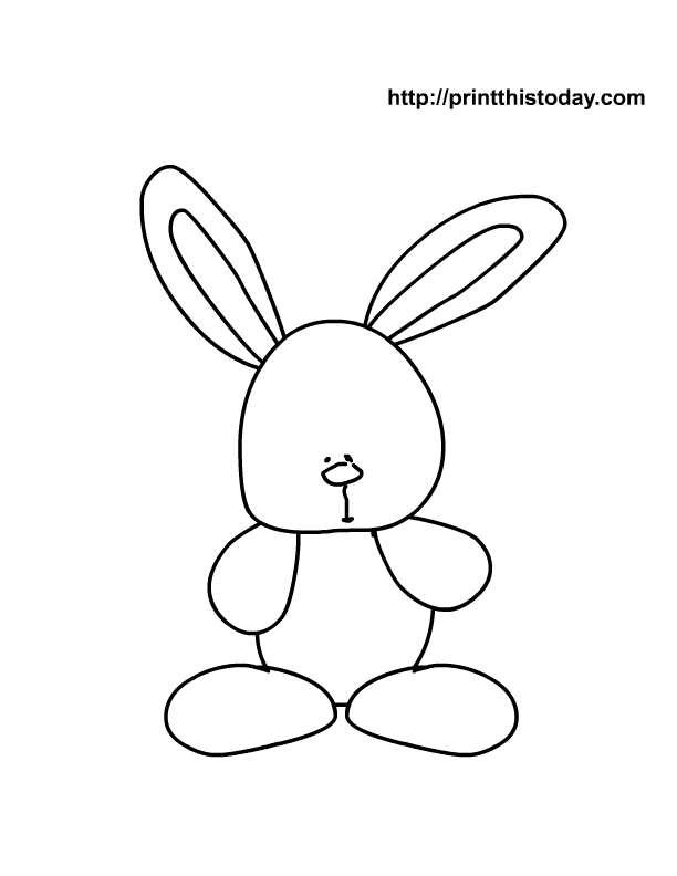 buzz bunny christmas coloring pages | Miranda Lambert Buzz: coloring pages for kids easter ...