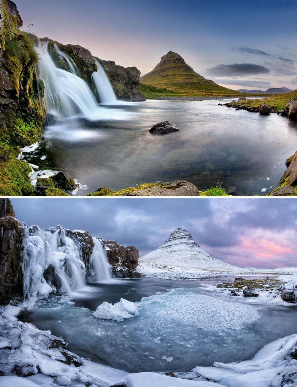 15 fotos de antes e depois da transformações invernais 13