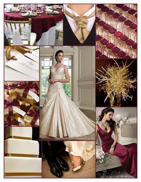 black, burgundy and ivory wedding color schemes   Burgandy