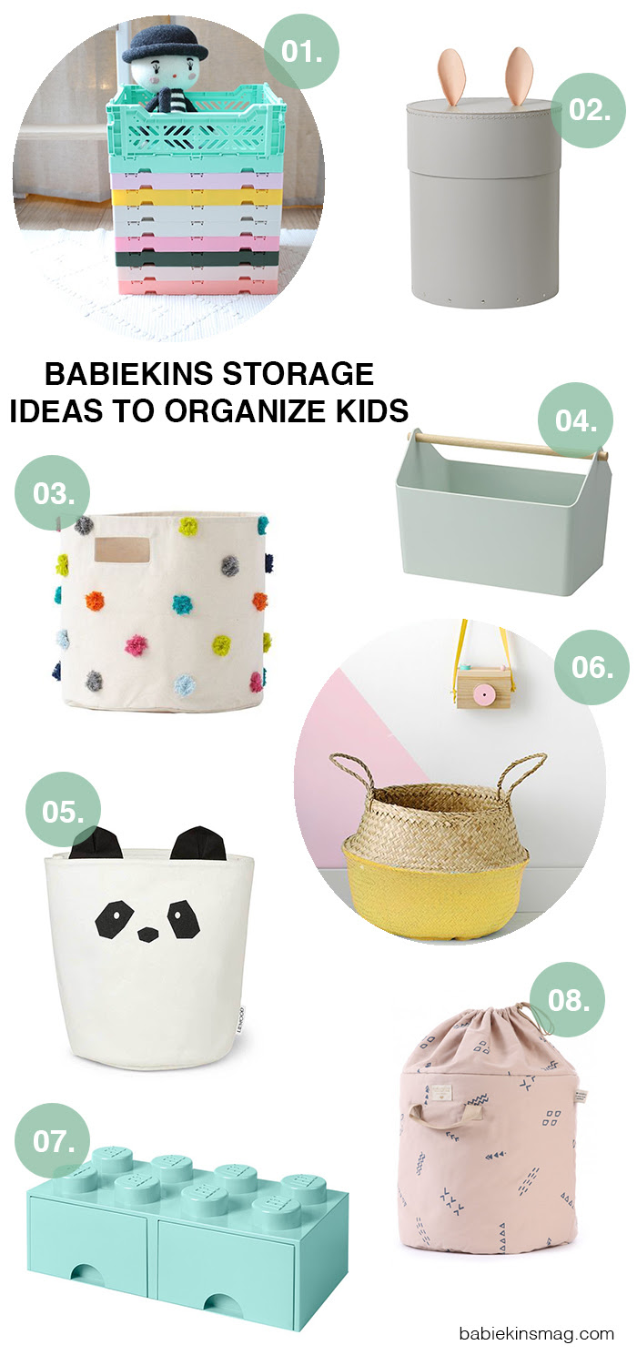 Babiekins Storage Ideas to Organize Kids | Babiekins Magazine