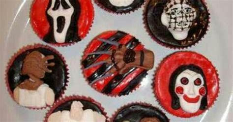 Horror themed cupcakes   Cakes!   Pinterest   Themed