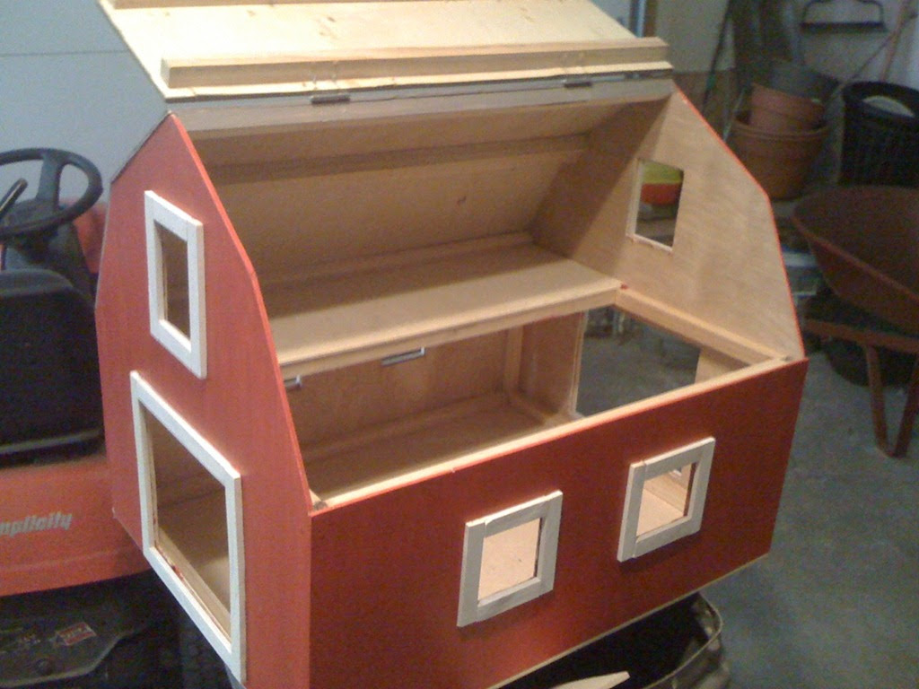 Free Woodworking Plans Toy Barn Somewhere Woodworking