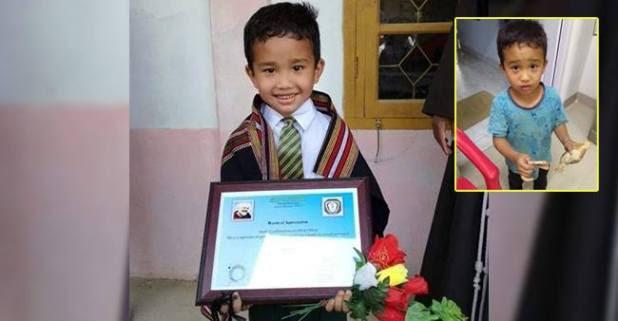 Mizoram Kid Dereck Got Reward From His School For Taking An Injured Chick to Hospital