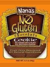 nana's no-gluten chocolate cookie