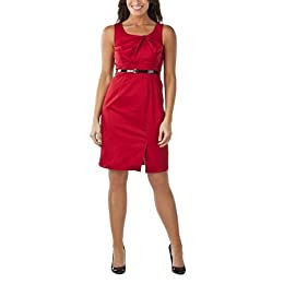 Product Image Merona® Women's Twisted Neckline Dress - Deep Love