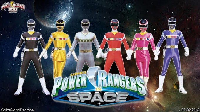 Power Rangers In Space (Power Rangers Kelima) Generasi 90 Merapat!