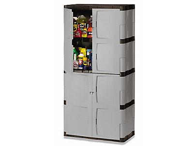 Full Double Door Cabinet Rubbermaid