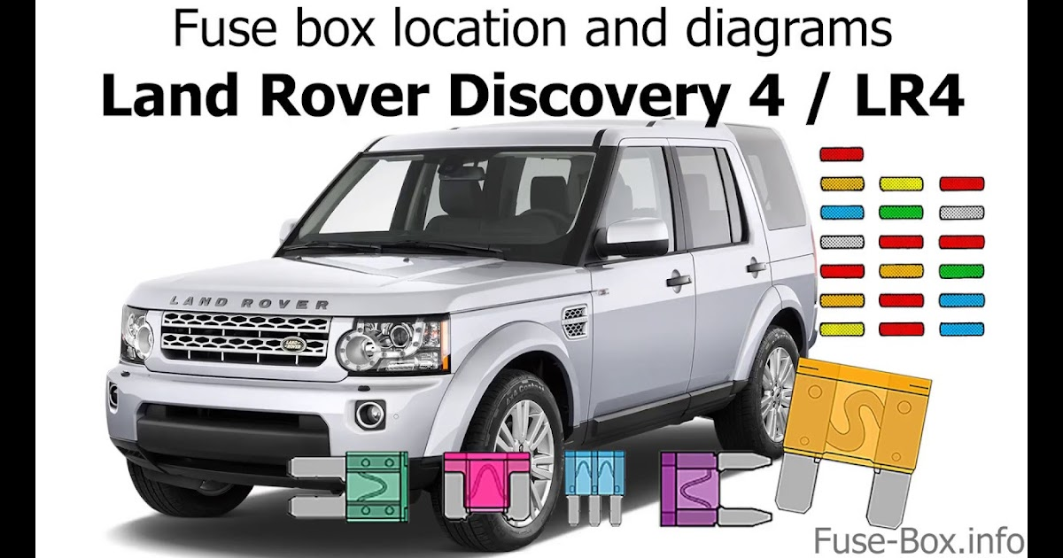 Land Rover Discovery 4 Fuse Box Diagram - Wiring Diagram ...
