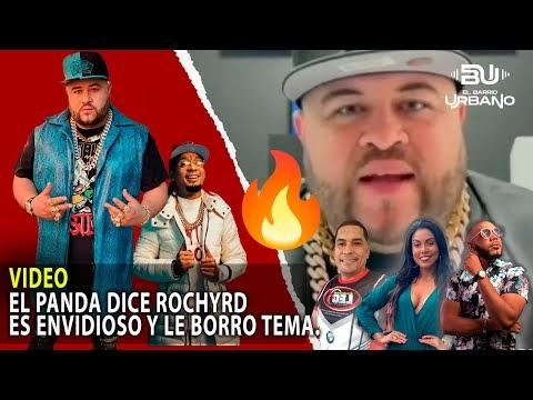 """Video: Panda Dice RochyRD es Envidioso Le Tumba Tema """"Grima"""""""