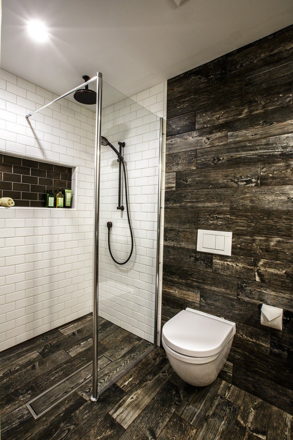 Modern Farmhouse Bath - Dorig Designs