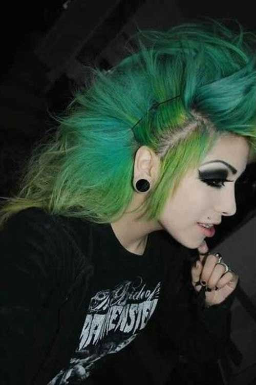 20+ Punk Rock Hairstyles for Long Hair   Hairstyles ...