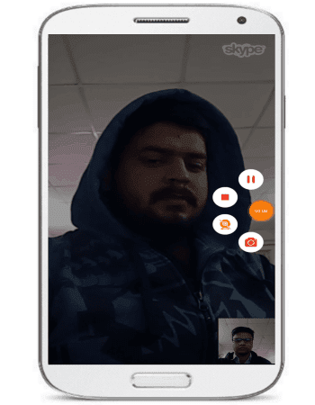 How to record Skype video calls for Android