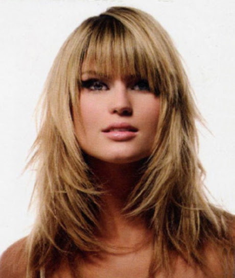 Idea 31 Long Hairstyles Fringe Layers