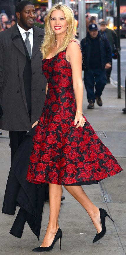 Ivanka Trump  My 5 Best Dressed 12/21/2014
