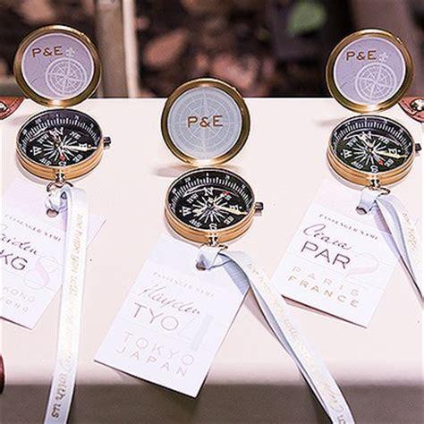 Gold 'Adventurers Compass' Wedding Favor   The Knot Shop