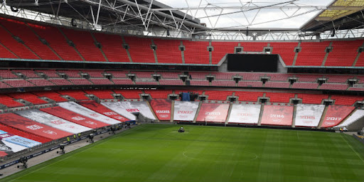 Avatar of Arsenal pay tribute to FA Cup heritage as Wembley seat wrap is unveiled