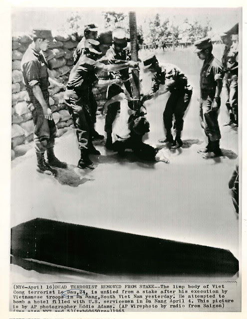 1965 Execution of Viet Cong Terrorist Le Dau - Photo by Eddie Adams