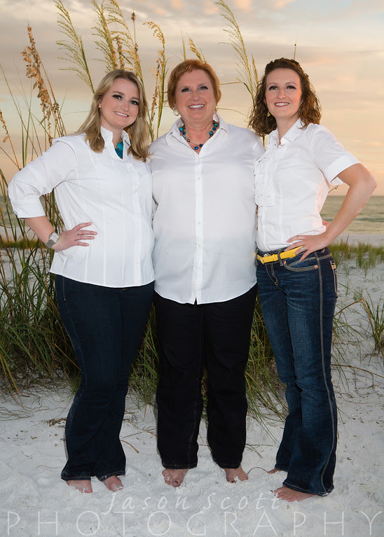 Karnes Family on Siesta Key, October 2012
