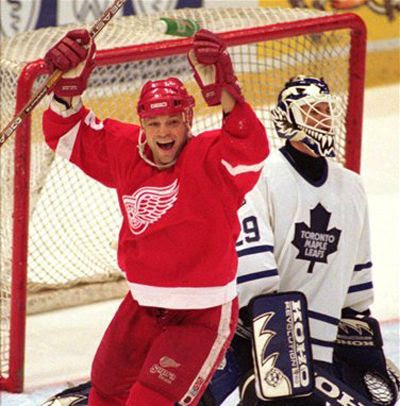 Dino Ciccarelli Red Wings