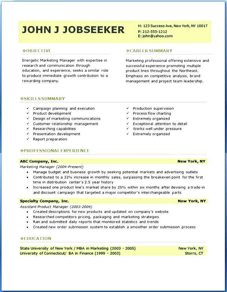 Professional Resume Templates Sample  Free Samples , Examples  Format Resume \/ Curruculum