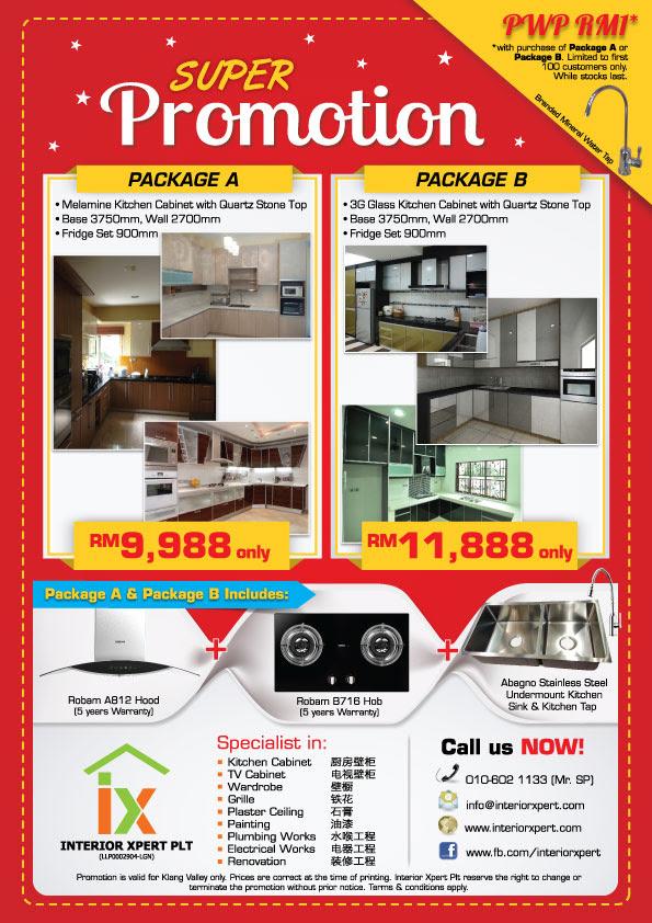 Promotion: Kitchen Cabinet Promotion