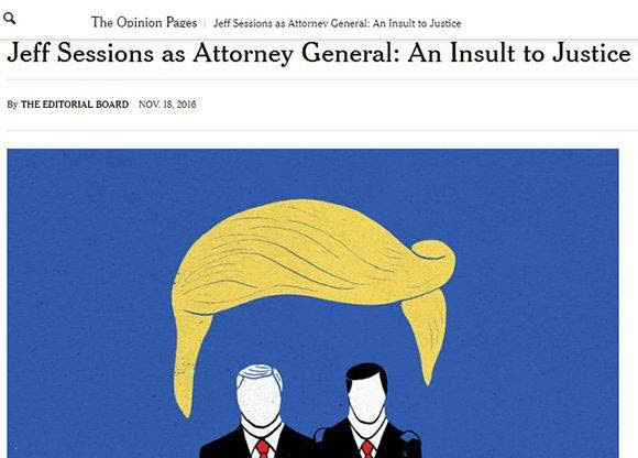 Jeff Sessions new york Times
