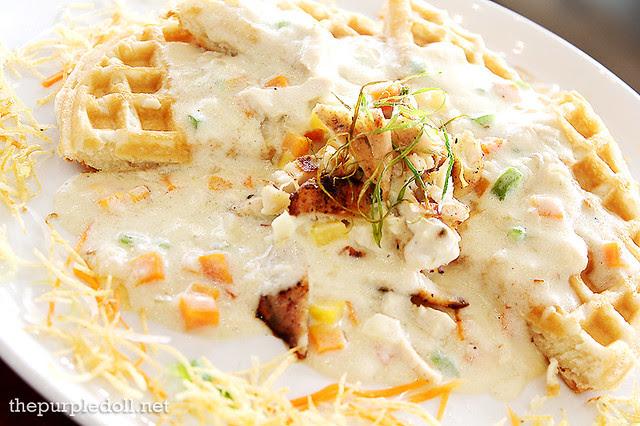Waffle Ala King (P175)