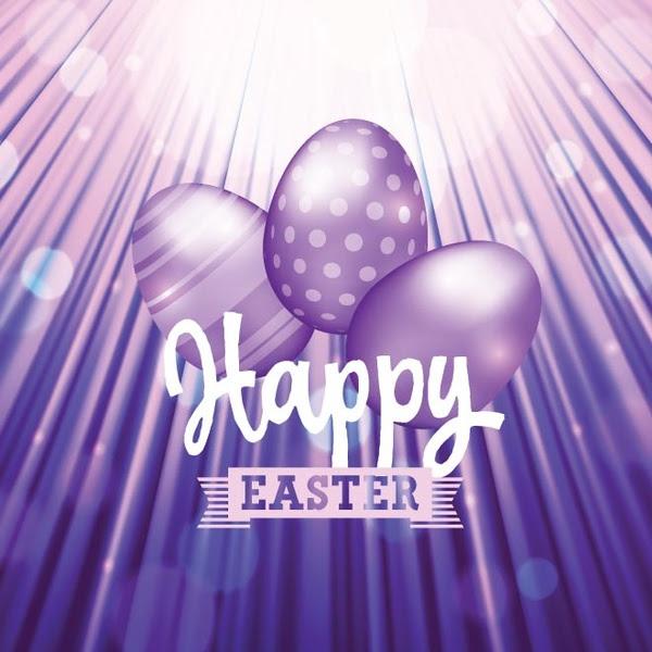 Vektor Gratis Set Telur Paskah Dengan Tipografi Pada Latar Belakang Ungu Yang Menakjubkan Vektor Natal Vektor Gratis Download Gratis