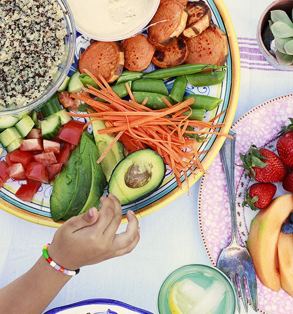 The Yummy Mummy Kitchen Cookbook: Rainbow Bowls Recipe