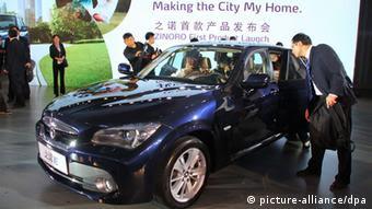 Bildergalerie 11. internationale Automobilmesse in Guangzhou, China (picture-alliance/dpa)